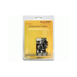 DeLock PCI Express card > 2x USB 3.0 USB-Adapter PCI Express x1 5 Gbps PCI-Express