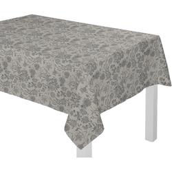 Tischdecke, Flower Cuvée Light, Adam schwarz Tischdecken Tischwäsche