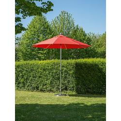 Sonnenschirm Milano rot, 268 cm