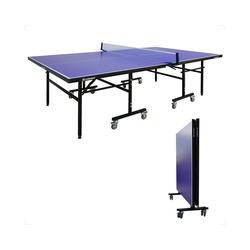 WIN.MAX Tischtennisplatte Tischtennisplatte Indoor mit Netz, Turniermaße, Klappbare Tischtennistisch Freizeitsport, Schneller Aufbau TT-Platte 75kg