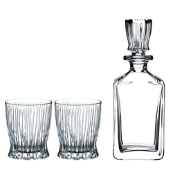 RIEDEL Tumbler Collection Whisky Set FIRE Karaffe und 2 Gläser
