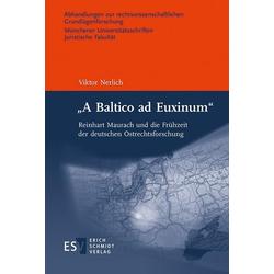 'A Baltico ad Euxinum': eBook von Viktor Nerlich