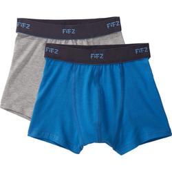 Boxershorts, blau, Gr. 140/146 - 140/146 - blau