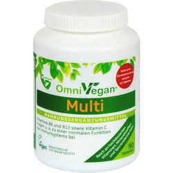 OmniVegan Multi - zertifiziert VEGAN