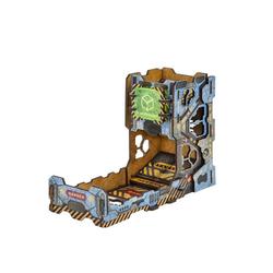 Q-Workshop Spiel, Q-Workshop Dice Tower Tech / futuristischer Würfel