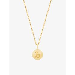ID Fine Damen Halskette 'Steinbock' gold, Größe One Size, 3820435