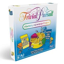 Hasbro Trivial Pursuit-Familien Edition Brettspiel