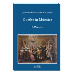 Goethe in Münster als Buch von Hagemann Karl/ Karl Hagemann