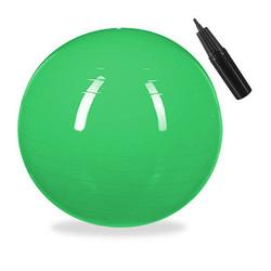 relaxdays   Gymnastikball grün 85,0 cm