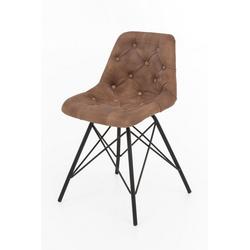 dynamic24 Esszimmerstuhl, 2x Design Ledersessel Stuhl Set Esszimmer Stühle Küchenstuhl Polsterstuhl Sessel
