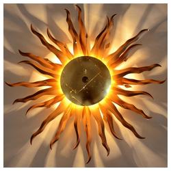 s.LUCE Deckenleuchte Diator XL handgeschmiedete Sonne