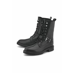 Schnürboots Trend-Boots COX schwarz