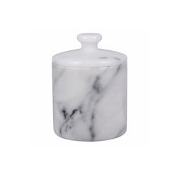 houseproud Aufbewahrungsbecher Gloss Marble Kosmetikdose weiß