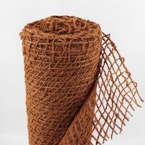 55m Böschungsmatte Ufermatte Kokos 1m breit Teichfolie Kokosmatte 450g