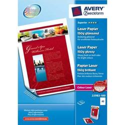 Fotopapier Laser A3 150g/qm hochglänzend VE=100 Blatt