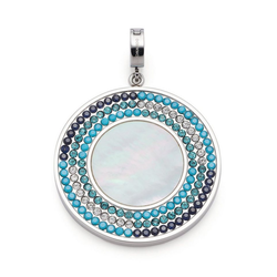 LEONARDO Charm-Einhänger Idora Clip&Mix, 019751, mit Kristallglas