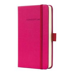 Notizbuch Conceptum A6 Deep Pink kariert