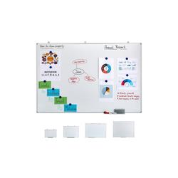 relaxdays Magnettafel Whiteboard magnetisch 150 cm x 7 cm x 100 cm
