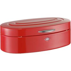Wesco Elly Brotkasten, für die Aufbewahrung von Brot, Brötchen, Gebäck oder Kuchen, Farbe: rot