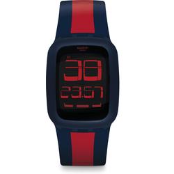 Swatch Swatch Touch SWATCH TOUCH DARK BLUE & RED SURN101D Unisex Digitaluhr