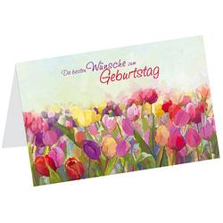 LUMA Geburtstagskarte Besten Wünsche DIN B6