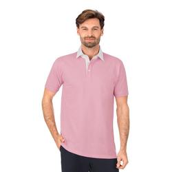 Trigema Business-Poloshirt rosa L