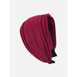 axy Haarreif Breiter Haarreif Wunderschön, Damen Breiter Haarreif Haarband Haarreifen rot