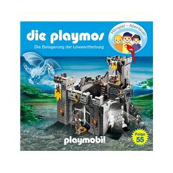 Die Playmos - (55)Die Belagerung Der Löwenritterburg (CD)