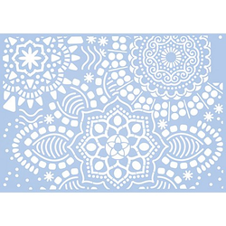"Schablone ""Mandala"", 21 x 29,7 cm"
