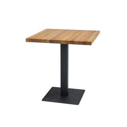 Stół Divock 80x80 cm z litego drewna dębowego