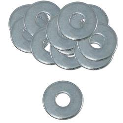 200 Stk. Unterlegscheibe Stahl verzinkt - 10,5 x 30 x 2,5 mm - nach DIN 9021- für Schrauben 10 mm