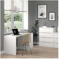 Vicco Schreibtisch Bürotisch Computertisch Ruben 140x65cm Arbeitstisch Büromöbel