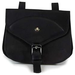 Das Lederband Jagdtasche Graz Black