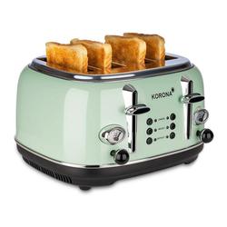 KORONA Toaster Korona 21676, 4 Scheiben, Mint, Röstgrad- Anzeige