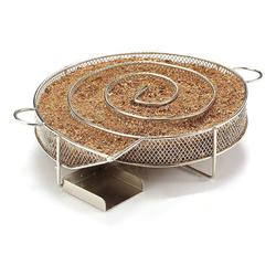kueatily Räucherbox Kaltrauchgenerator, Räucherofen aus Edelstahl zum Heiß- und Kalträuchern, perfekt für alle Grills und Räuchergeräte, Räucherzeit bis zu 4-7 Stunden