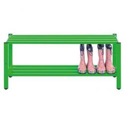Schuhregal für Stiefel - - 150 cm breit - grün