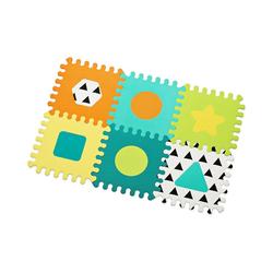Infantino BKids Puzzlematte Puzzle Spielmatte von Weichschaum, Puzzleteile