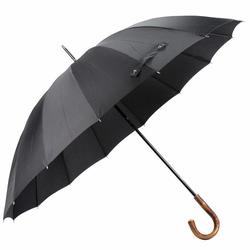 bugatti Doorman Parasol na kiju, długi 105 cm schwarz