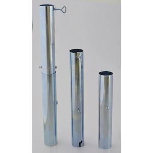Sonnenschirmständer - MIT STAHL VERLÄNGERUNGSHÜLSE 510 mm - DER STABIELO ® SONNENSCHIRM BODENHALTER - MADE in GERMANY - STAHL HÜLSE - BODENHÜLSE VH 53 L - für STÖCKE bis Ø 53 mm - Wanddurchmesser 1,6 mm - Maschinen poliertes ALUMINIUM - Sonnenschirmhalter - VERTRIEB - HOLLY PRODUKTE STABIELO ® - INNOVATIONEN MADE in GERMANY - holly-sunshade ® - PREISE SO LANGE VORRAT REICHT - PRODUKTE MADE in BADEN WÜRTTEMBERG -
