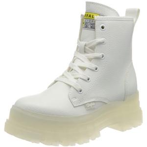 Buffalo Damen ASPHA RLD Mode-Stiefel, White, 37 EU