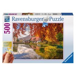 Ravensburger Puzzle Mühle Am Blautopf, 500 Puzzleteile