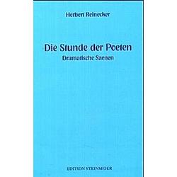 Die Stunde der Poeten. Herbert Reinecker  - Buch