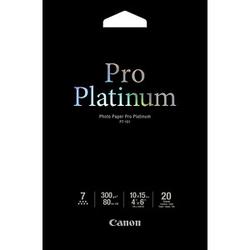 Canon Fotopapier PT-101 10,0 x 15,0 glänzend 300 g/qm 20 Blatt
