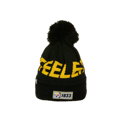New Era Strickmütze Pittsburgh Steelers Sideline