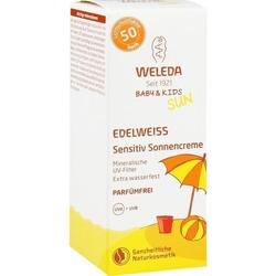 WELEDA Edelweiss Sensitiv Sonnencreme LSF 50