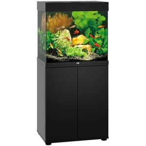 JUWEL AQUARIEN Aquarien-Set Lido 120 LED, 120 Liter, Gesamtmaß BxTxH: 61x41x131 cm schwarz