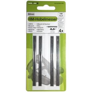 4 Stück HM Wendemesser/Hobelmesser für Einhell Hobel TE-PL 850 / RT-PL 82 / BT-PL 900 / BT-PL 750 / BEH 600 / TC-PL 750