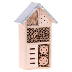 Insektenhotel Insektenhaus Insekten m. Metalldach 15x9x26