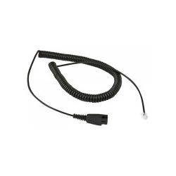ALLNET Zubehör Kabel für Jabra QD-RJ9 Regelbelegung (100-002-G)