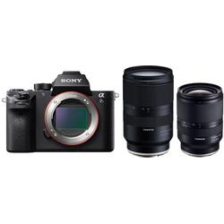 Sony Alpha ILCE-7SM2 + Tamron 17-28mm + Tamron 28-75mm Sony E-Mount